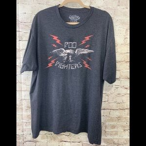 Foo Fighters Band T Men's 2XL Gray